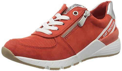 MARCO TOZZI Damen 2-2-23739-34 Sneaker, Orange (Burn. Orange Core 621), 38 EU