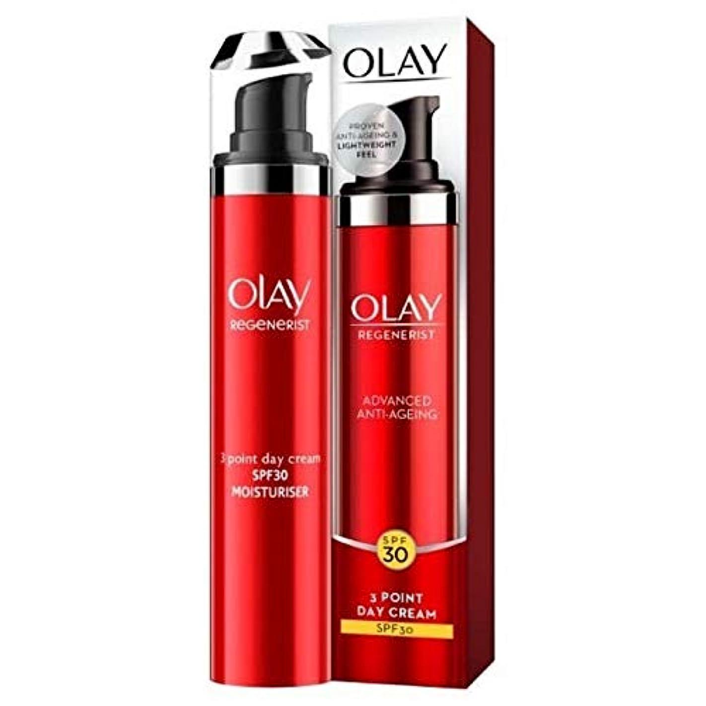 忌み嫌うシェル収束[Olay ] オーレイリジェネ軽量デイクリームSpf30 - Olay Regenerist Lightweight Day Cream SPF30 [並行輸入品]