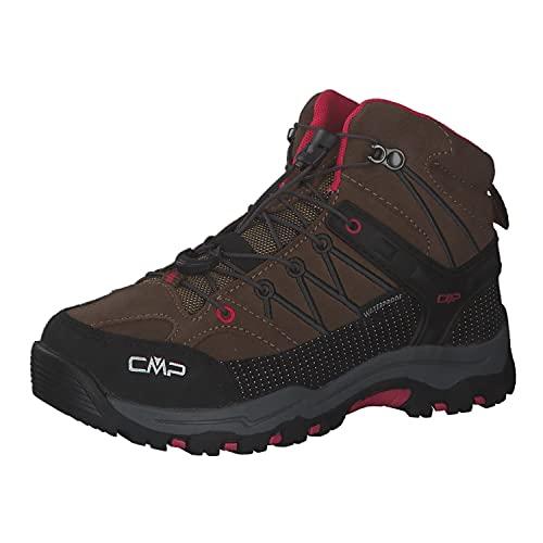 CMP Kinder Trekking Schuhe Rigel MID 3Q12944 Corteccia-Begonia 28