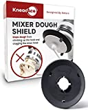 KneadAce Dough Hook Shield For Kitchen Aid - Prevents Your Dough from Climbing Up and Clogging Up Your Mixer – A Mess Free Stand Mixer Accessory Compatible with Most C Shape KitchenAid Dough Hooks