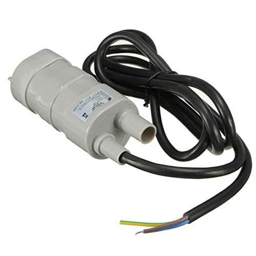 Greatangle 6-15V Miniatur-Tauchpumpe 5 Meter Hochspannungs-DC-Tauchpumpe Hochhubpumpe Elektrischer Hochdruck Grau
