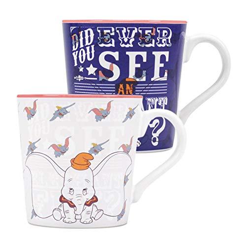 Dumbo Disney Thermoeffekt Tasse - Elephant Fly - Geschenkbox