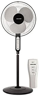 "Black & Decker 16"" inch Pedestal Stand Fan with Remote - FS1620R-B5"