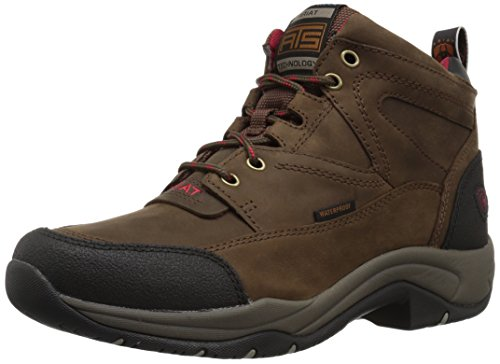 Ariat Women's Terrain H2O Hiking Boot, Distressed Brown, 7.5 B US