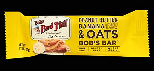 Bob#039s Red Mill Peanut Butter Banana and Oats Bob#039s Bar Case of 12