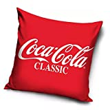 Carbotex Coca Cola COLA191222 - Cojín decorativo, 40 x 40 cm