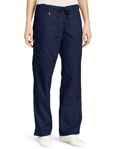 WonderWink Women's Scrubs  Cargo Pant, Navy, X-Large