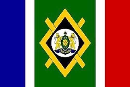 U24 Aufkleber Johannesburg Flagge Fahne 12 x 8 cm Autoaufkleber Sticker