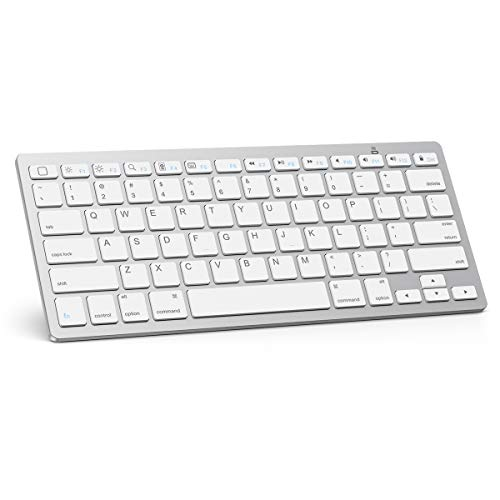 OMOTON Ultra-Slim Bluetooth Keyboard Compatible with iPad...