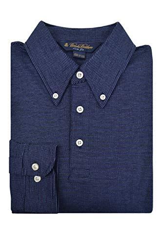 Brooks Brothers Golden Fleece Slim Fit Performance Polo Shirt (M, Navy)