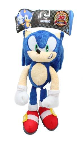 Sonic The Hedgehog Peluche « Sonic Le hérisson » - 30,5 cm - Bleu