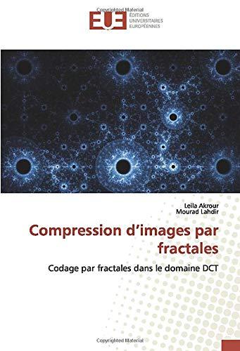 Compression d'images par fractales: Codage par fractales dans le domaine DCT