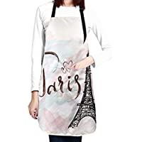Waldeal Adjustable Cooking Kitchen Apron with 2 Pockets (Various)