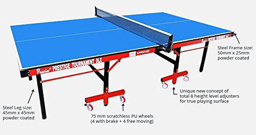 Precise Table Tennis Table (Prestige Tournament DLX)