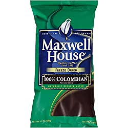 Maxwell House Colombian Instant Decaf Coffee
