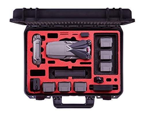 Professional Carrying Case for DJI Mavic 2 Pro & Zoom and DJI Standard Controller and DJI Smart Controller - Perfect Suitcase - Made in Germany