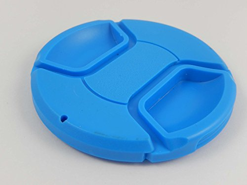 vhbw Tappo per obiettivo da 72mm con Impugnatura interna Snap on blu per Fotocamera Sigma 18-35 mm F1.8 DC HSM Art