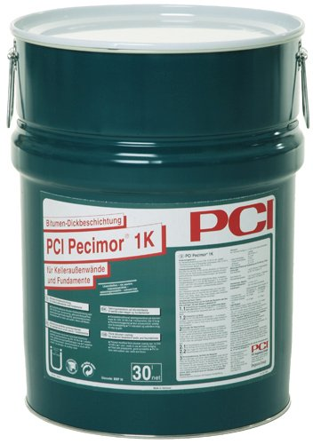 PCI PECIMOR 1K Bitumen-Dickbeschichtung 30L Eimer
