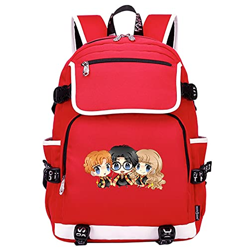 QLma Mochila para portátil de viaje para jóvenes, mochila escolar universitaria colorida para niño / niña / hombre / mujer, mochila para computadora 45x37x16cm (style23)