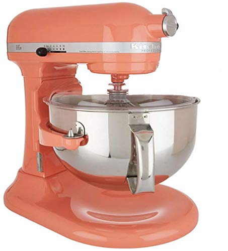 Kitchenaid (CERTIFIED REFURBISHED) Rkp26m1xCA Professional 600 Stand Mixer 6 quart 10-SPD Candy Apple Red