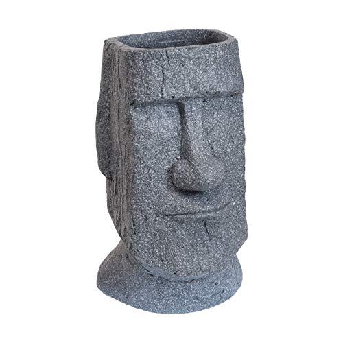 HTI-Living Blumentopf Moai-Figur Übertopf Pflanzgefäß