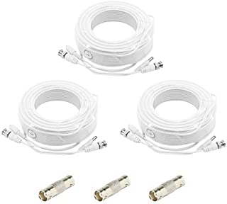 240ft White Premium Surveillace Thick Extension Cables for 16 CH SAMSUNG SYSTEMS SDS-P5101L