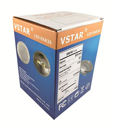 Vstar LED PAR36 9W (Eq to 50W Halogen) 12V Warm White Lamp