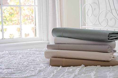 Magnolia Organics Estate Collection Sheet Set - Cal King, Sea Foam