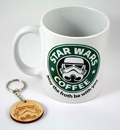 HobbyElx Taza y Llavero Star Wars Coffee