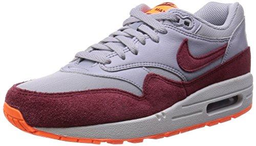 Nike Herren WMNS Air Max 1 Essential Low-top, Grau WLF Gry Tm Rd TTL Orng SMMT Wh, 38.5 EU