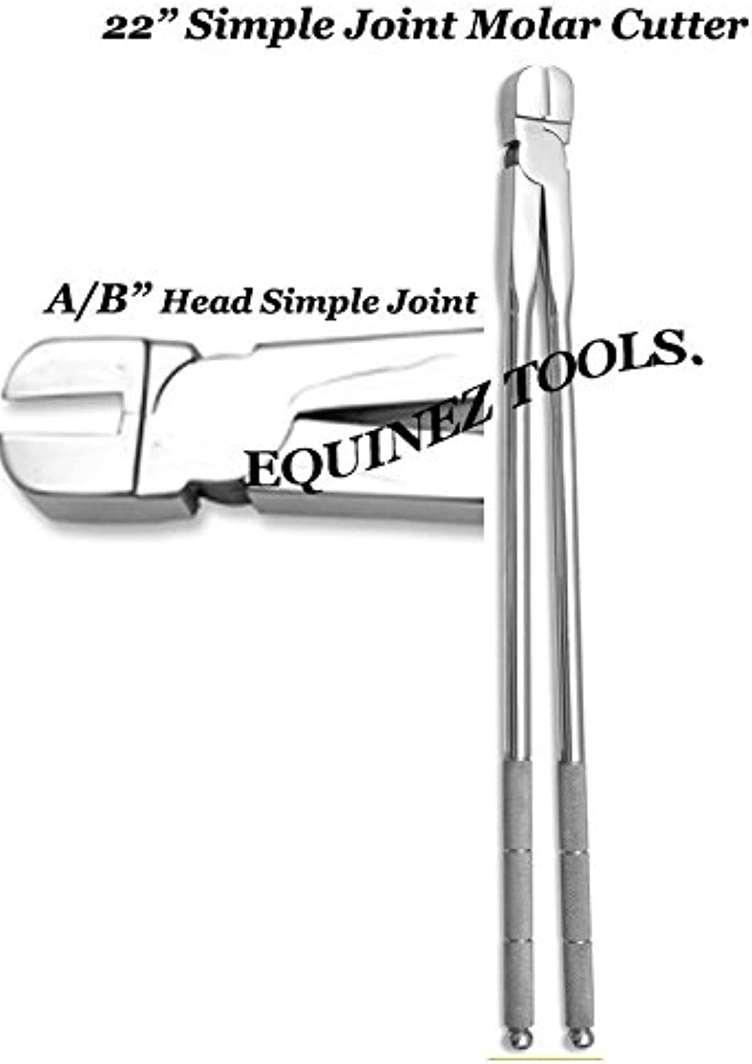 Equine Lower Molar Cutter Simple Joint 22  Fig  A B Equine Dental Tools.