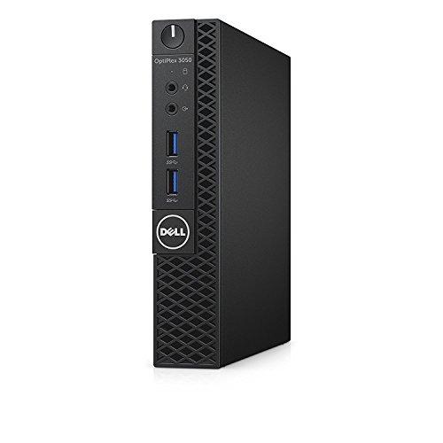 Dell OptiPlex 3050 Micro Desktop - (Black) (Intel i5 7500T 3.3 GHz, 4 GB RAM, 500 GB HDD, Intel HD Graphics 630, Windows 10 Pro) (Renewed)