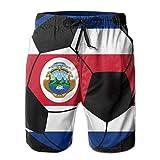 DCVFB Costa Rica Soccer Men 's Summer Beach Surf Board Shorts Shorts de natación de Secado rápido Casual Loose Sleep Short Pants
