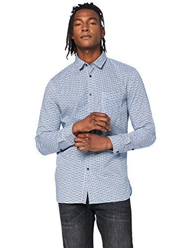 BOSS Mens Magneton_1 Shirt, Open Blue (460), XXL