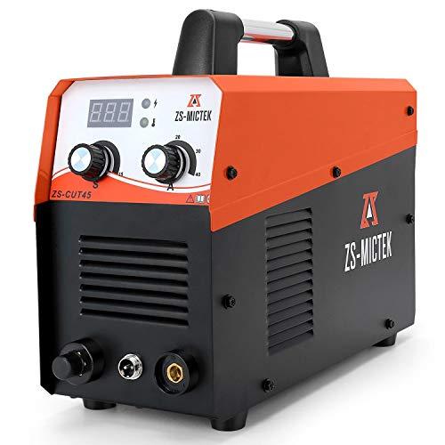Plasma Cutter 45Amps Air Inverter, 220V AC 1/2' Clean Cut, Portable Plasma Cutting Machine with...
