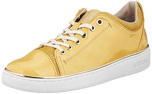 MUSTANG Damen 1300-301-6 Sneaker, Gelb (Gelb 6), 40 EU