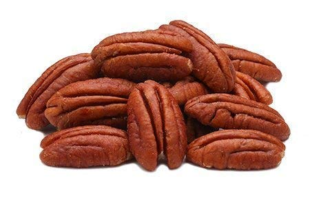 Nueces de Pecana grandes Bio 1 kg, mitades, crudas, non tostadas, naturales, sin orgánicas, envasado al vacío 1000 gr