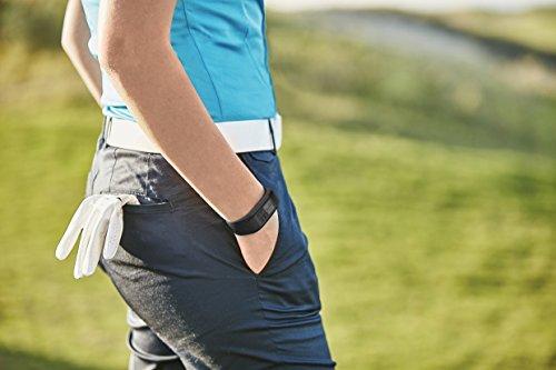Garmin Approach X40 - Bracelet GPS de Golf avec Cardio Poignet - Taille Regular - Noir et Gris