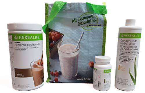 Herbalife Programa completo por perder peso - sabor chocolate cremoso