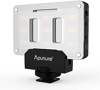 Aputure Amaran AL-M9 LED Video Light Built in Battery Pockable TLCI/CRI 95+ On-camera Fill Light 9pcs SMD Lighting for DSLR Camera [並行輸入品]