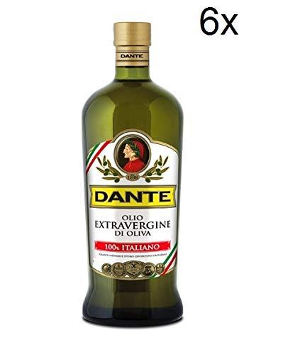 6x Dante olio extravergine di oliva 100% italienisch Extra Natives Olivenöl 250ml