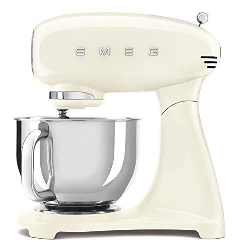 Smeg SMF03CRUS Retro Style 5 Quart Stand Mixer – Cream