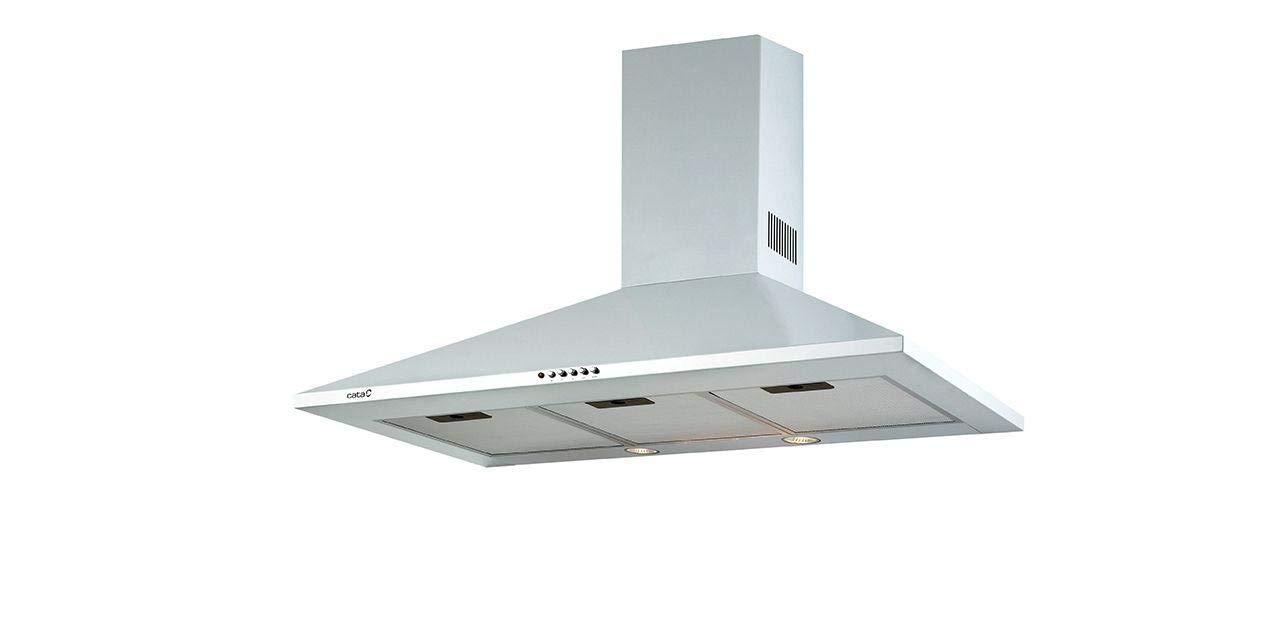 CATA OMEGA 600 WH 645 m³/h De pared Blanco C - Campana (645 m³/h, Canalizado/Recirculación, D, A, B, 71,8 dB): Amazon.es: Grandes electrodomésticos