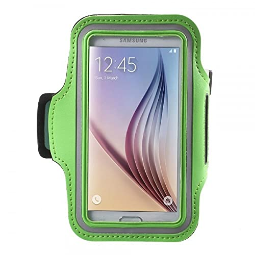 Cover-Discount Universal - Brazalete Deportivo M con cinturón para Correr, Color Verde