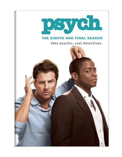 Psych Final Season 8 [ENGLISCH](kein Deutsch) [Regionalcode 1 (codefree DVD Player benötigt)]