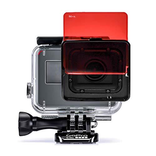 SANDMARC Aqua Filter: Tauchen Filters für GoPro Super Suit - Hero 7/6 / 5 - Rot, Magenta und Gelb Filter Set - Tauchen und Schnorchel Zubehör - 5 Pack