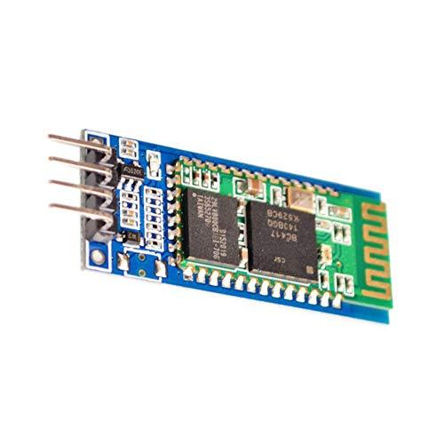 Kabelloser serieller Bluetooth-Transceiver-Unterstützungsmodul, 4-polig, Slave-Master-Modus, HC-06, kompatibel mit Arduino