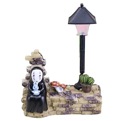 .a Adornos creativos de luz nocturna para el hogar, exquisita artesanía de resina.