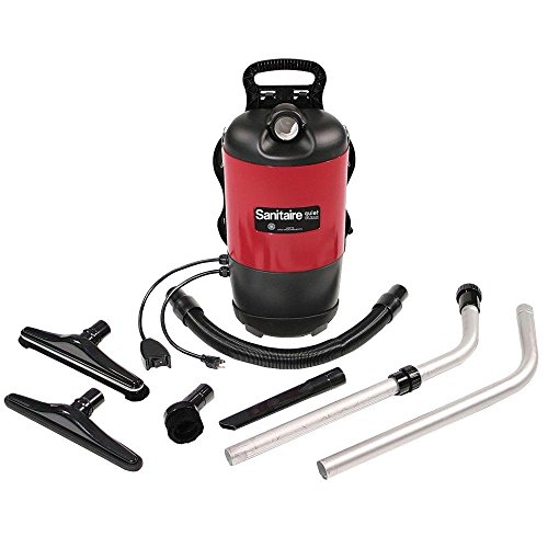 For Sale! Sanitaire Sc412 Backpack Vacuum Cleaner with 50-Foot Power Cord, 11.5 Amps, 120 Cfm-881096...