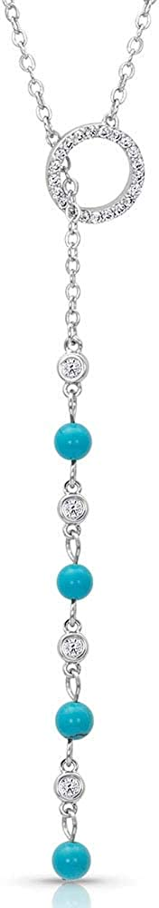 Montana Silversmiths Bombing free shipping Lariat Drop Necklace Turquoise Ranking TOP8